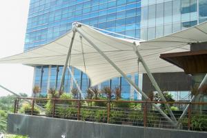 Jasa Tenda Membrane Profesional & Bergaransi