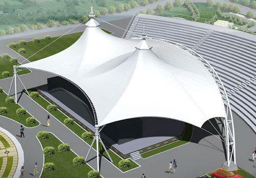 Desain Tenda Membrane